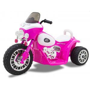Kijana moto enfant police Wheely rose