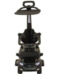 Ford Ranger trotteur électrique enfant noir + pare-soleil
