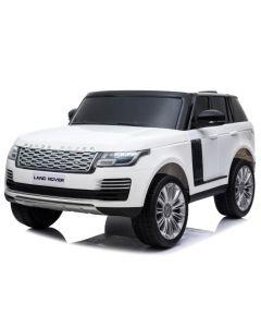 Range Rover voiture enfant électrique blanche 2 places