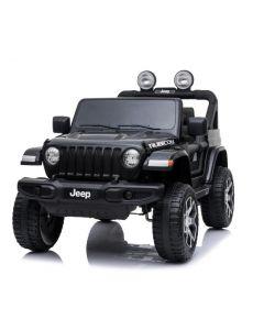 Jeep Wrangler voiture enfant noire