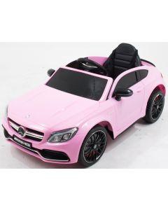 Mercedes voitureenfant C63 rose