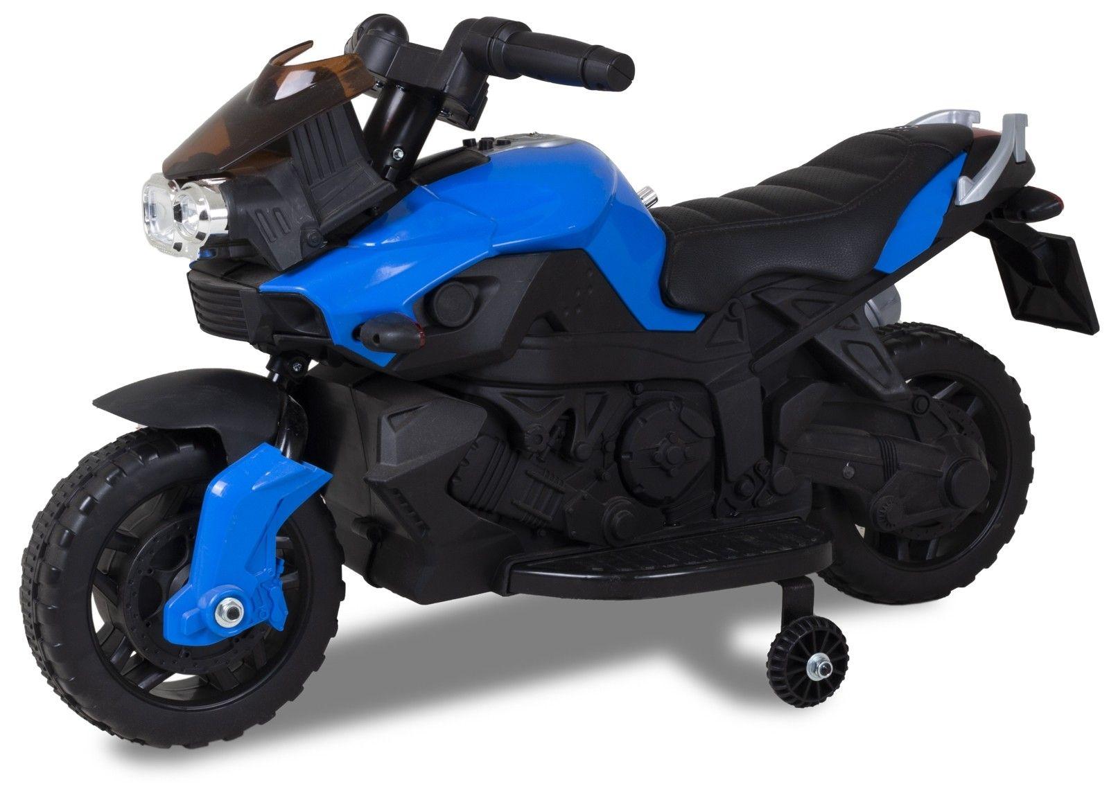 Kijana mini moto pour enfant 6V bleu