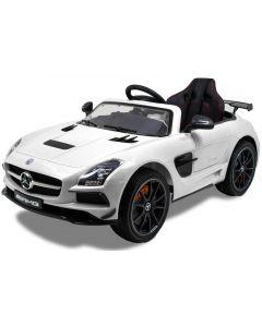 Mercedes voiture pour enfant SLS blanche