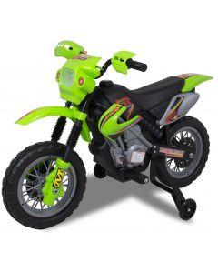 Kijana moto pour enfant verte