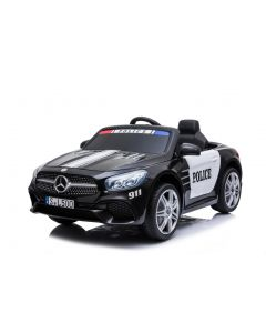 Mercedes voiture enfant police SL500 noire