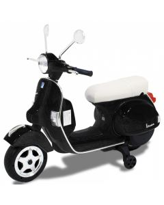 Vespa scooter pour enfant noir