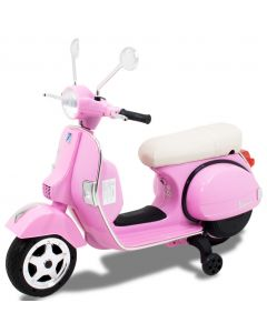 Vespa scooter pour enfant rose