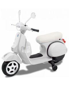 Vespa scooter enfant blanc