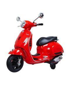 Vespa GTS scooter enfant rouge