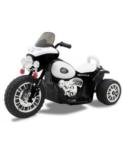 Kijana moto enfant police Wheely noire